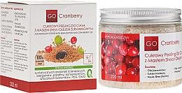 Kup Cukrowy peeling do ciała z masłem shea i olejem żurawinowym - GoCranberry