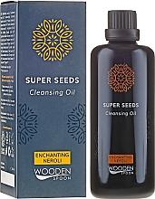 Kup Przeciwzmarszczkowy olejek do mycia twarzy Neroli - Wooden Spoon Super Seeds Enchanting Neroli Cleansing Oil