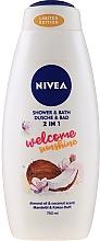 Kup Żel i płyn do kąpieli Kokos i migdał - Nivea Welcome Sunshine Body Wash Limited Edition