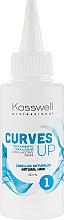 Kup PRZECENA! Preparat do trwałej ondulacji włosów naturalnych - Kosswell Professional Curves Up 1 *