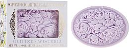 Kup Roślinne mydło w kostce Wisteria - Saponificio Artigianale Fiorentino Botticelli Wisteria Soap