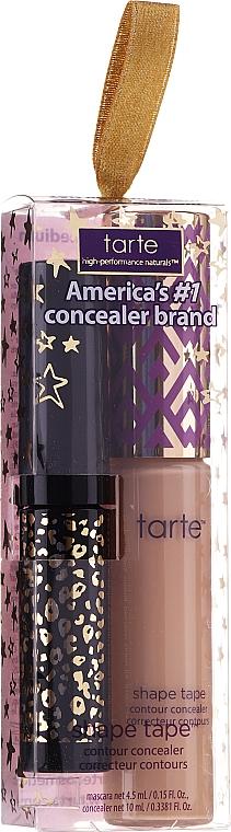 Zestaw - Tarte Cosmetics Shape Concealer 35N Set (concealer/10ml + mascara/4.5ml) — фото N1