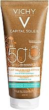 Kup Eko mleczko do opalania z kwasem hialuronowym do ciała SPF 50+ - Vichy Capital Soleil Solar Eco-Designed Milk SPF 50+