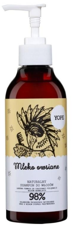 Zestaw do włosów - Yope Mleko owsiane (shm 300 ml + cond 170 ml) — фото N2
