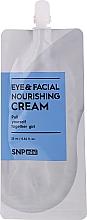 Kup Odżywczy krem do twarzy i pod oczy - SNP Mini Eye & Facial Nourishing Cream (próbka)