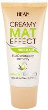 Kup Kremowy fluid matujący - Hean Creamy Mat Effect