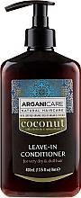 Kup Odżywka bez spłukiwania do suchych i matowych włosów - Arganicare Coconut Leave-In Conditioner For Very Dry & Dull Hair