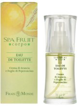 Kup Frais Monde Spa Fruit Orange And Chilli Leaves - Woda toaletowa
