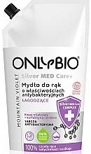 Kup Antybakteryjne mydło do rąk - Only Bio Silver Med Care+ Mountain Violet Hand Soap