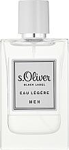 Kup S. Oliver Black Label Eau Legere Men - Woda toaletowa dla mężczyzn