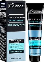 Kup Nawilżający krem do depilacji dla mężczyzn - Bielenda Only For Man