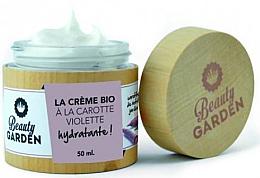 Kup Nawilżający krem do twarzy z fioletową marchwią - Beauty Garden Violet Carrot Face Cream