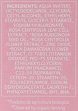 Nawilżający krem do twarzy - Erbario Toscano Biocomplex Pure Rose 24H Face Cream — фото N4