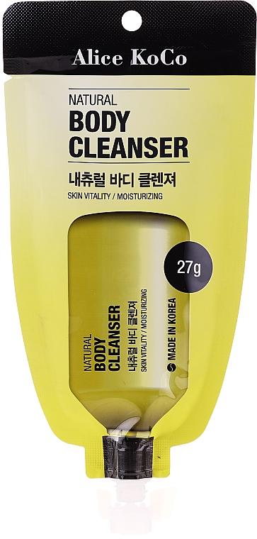 Oczyszczający żel pod prysznic - Alice Koco Natural Body Cleanser — фото N1