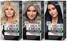Kup Farba do włosów - Joanna Multi Cream Color Metallic