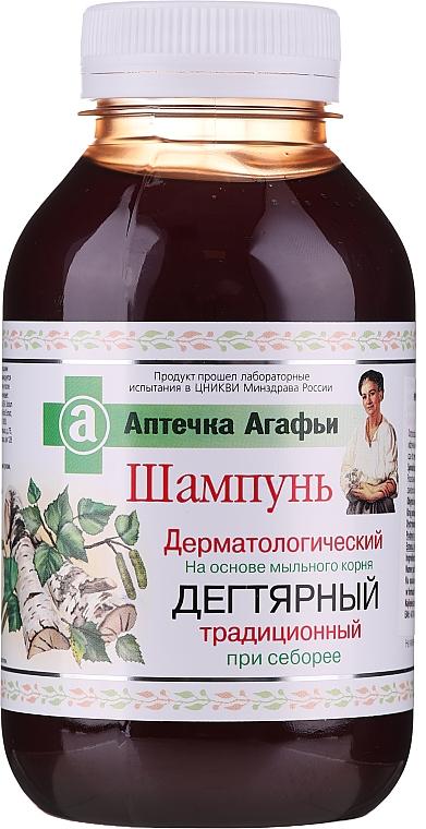 Dermatologiczny szampon dziegciowy przeciw łojotokowi - Receptury Babci Agafii Apteczka Agafii
