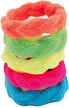 Kup Zestaw kolorowych gumek do włosów, 5 szt. - IDC Institute Design Hair Bands Pack