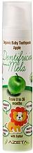 Kup Pasta do zębów dla dzieci Jabłko - Azeta Bio Organic Baby Toothpaste Apple