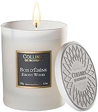 Kup Świeca zapachowa Heban - Collines De Provence Ebony Wood Scented Candle