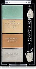 Kup Paletka korektorów do twarzy - Dermacol Corrector Palette