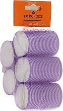 Kup Wałki do włosów 5 szt., 41 mm, 3448, fioletowe - Top Choice