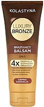 Kup Brązujący balsam do ciała Ciemna karnacja - Kolastyna Luxury Bronze Tanning Balm