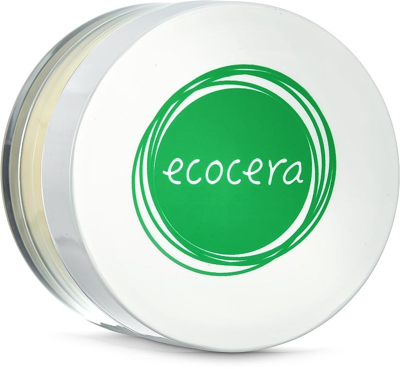 Sypki puder bananowy do cery suchej i wrażliwej - Ecocera