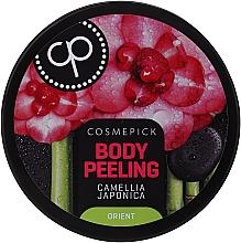Kup Relaksujący peeling do ciała Kamelia japońska - Cosmepick Body Peeling Camellia Japonica