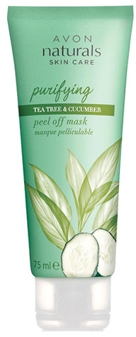 Oczyszczająca maseczka do twarzy Drzewo herbaciane i ogórek - Avon Naturals