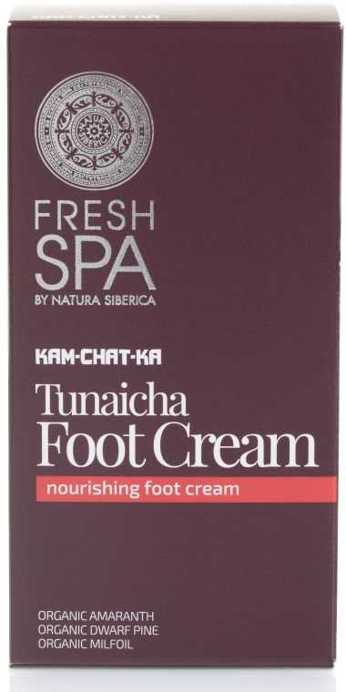 Odżywczy krem do stóp - Natura Siberica Fresh Spa Kam-Chat-Ka Tunaicha Foot Cream — фото N1