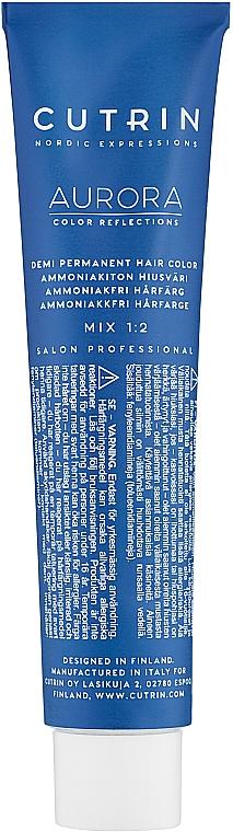 Farba do włosów bez amoniaku - Cutrin Aurora Demi Color  — фото N2