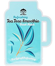 Kup Oczyszczająco-wygładzająca maseczka w płachcie do cery tłustej i problemowej - Dr. Mola Refreshing Tea Tree Smoothie Sheet Mask