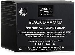 Kup Krem do twarzy na noc - MartiDerm Black Diamond Epigence 145 Sleeping Cream
