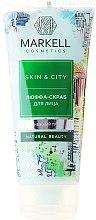 Kup Luffa-peeling do twarzy Trzęsak morszczynowy - Markell Cosmetics Skin&City