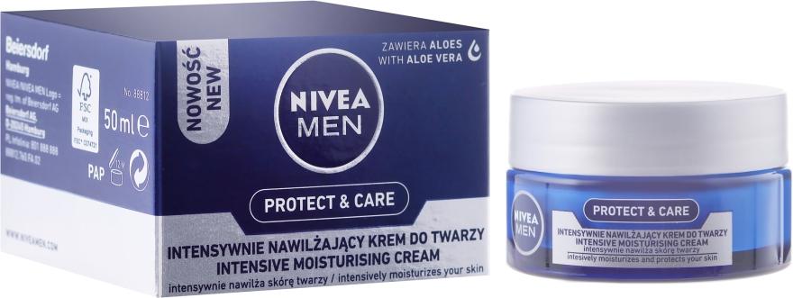 Intensywnie nawilżający krem do twarzy dla mężczyzn - Nivea Men Originals Intensive Moisturising Cream — фото N1