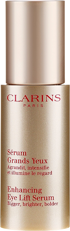 Serum rozświetlające pod oczy - Clarins Enhancing Eye Lift Serum — фото N2