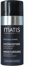 Kup Nawilżająca emulsja matująca do twarzy dla mężczyzn - Matis Reponse Homme Moisturising Shine Control Hydrating Emulsion