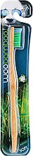 Kup Miękka szczoteczka bambusowa do zębów, zielona - Woobamboo Adult Standard Handle Toothbrush Soft