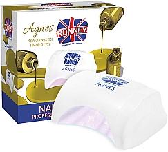 Kup Lampa LED do paznokci, biała - Ronney Professional Agnes LED 48W (GY-LED-032)