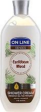Kup Kremowy żel pod prysznic Olejek migdałowy i kokosowy z proteinami mleka - On Line Caribbean Mood Shower Cream