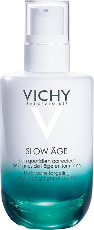 Pielęgnacja przeciwstarzeniowa do twarzy - Vichy Slow Age Daily Care Fluid SPF 25