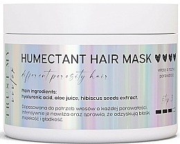 Kup Humektantowa maska do każdego rodzaju włosów - Trust My Sister Humectant Hair Mask