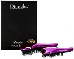 Kup Zestaw szczotek do włosów - KayPro Dtangler Miraculous Purple (2xbrush)