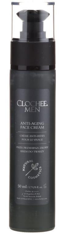 Krem przeciwzmarszczkowy do twarzy dla mężczyzn - Clochee Men Anti-Aging Face Cream — фото N3