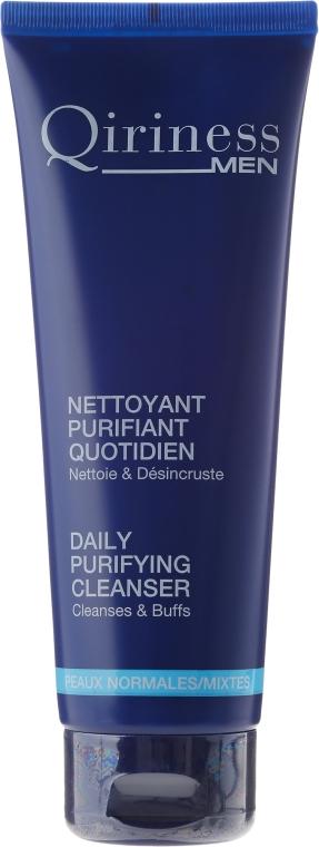 Codzienny żel oczyszczający do twarzy dla mężczyzn - Qiriness Men Daily Purifying Cleanser — фото N1