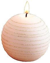 Kup Świeca dekoracyjna, różowo-złota kula, 8 cm - Artman Andalo