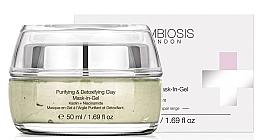 Kup Oczyszczająca żelowa maska detoksykująca do twarzy Kaolin i niacynamid - Symbiosis London Purifying & Detoxifying Clay Mask-In-Gel