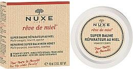 Kup Rewitalizujący balsam do twarzy i ciała z miodem - Nuxe Rêve de Miel Repairing Super Balm With Honey
