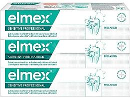 Kup Zestaw - Elmex Sensitive Professional (toothpaste/3×75ml)