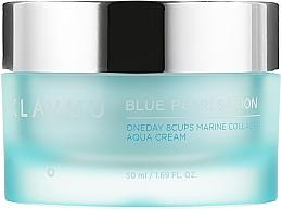 Kup Krem do twarzy z kolagenem morskim - Klavuu Blue Pearlsation One Day 8 Cups Marine Collagen Aqua Cream